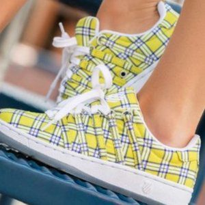 K-Swiss Clueless Plaid Sneakers - worn once